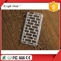 Factory price transparent ultra thin beautiful cell phone accessories