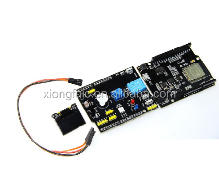 Multifunction Expansion Board DHT11 LM35 Temperature Humidity UNO for TTgo ESP32 WiFi D1 R32 X-OLED 0.96 inch OLED Schild