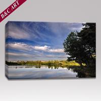 Canvas Photo Printing Wholesale Landscape Pictures for Bedroom Decor