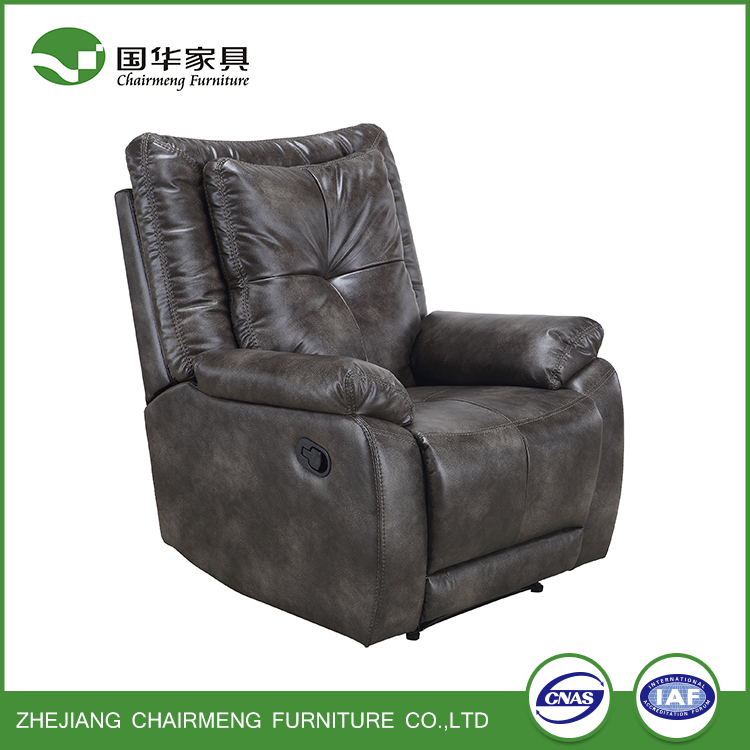 Reclining refined Luxury bright-colored leather Sofa Sets
