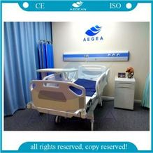 Ceiling mounted medical bed unit with calling system patient head wall