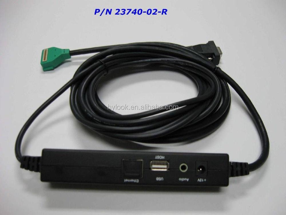 Mx8xx Verifone Green Cable 23740 02 R View Verifone 23741
