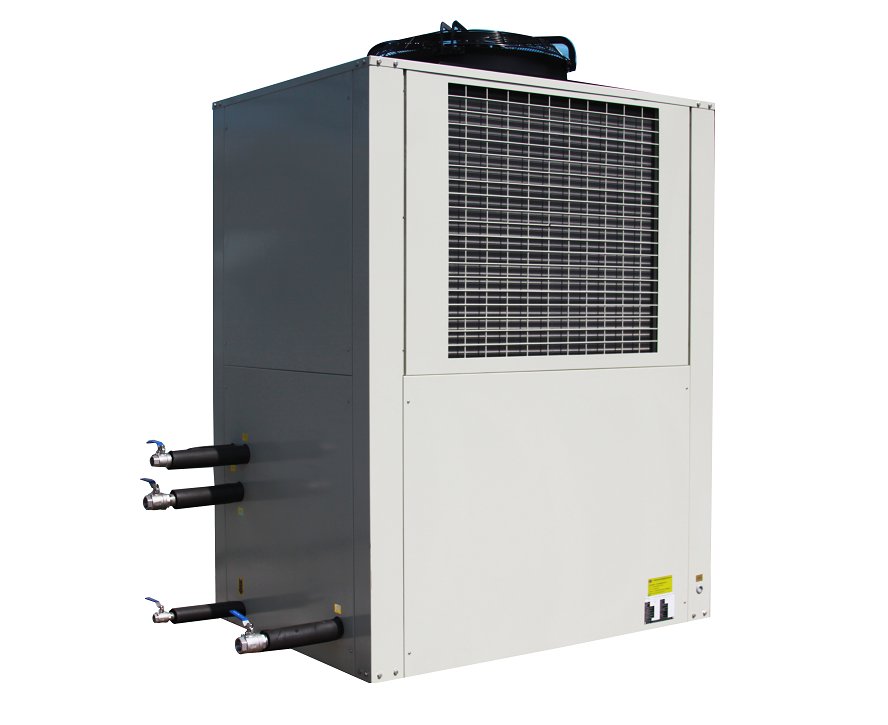 Constante Temp Energiebesparende kunststof 60 ton industriële luchtgekoelde chiller voor drank