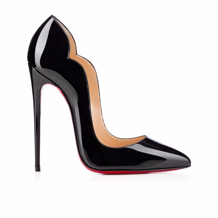 b8d51464ff0be 12cm high heels black patent leather shoes sexy ladies pointed toe women  High heeled Pumps