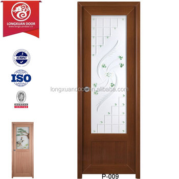 Bathroom Upvc Doors quality custom upvc frosted glass doors for toilet or bathroom or