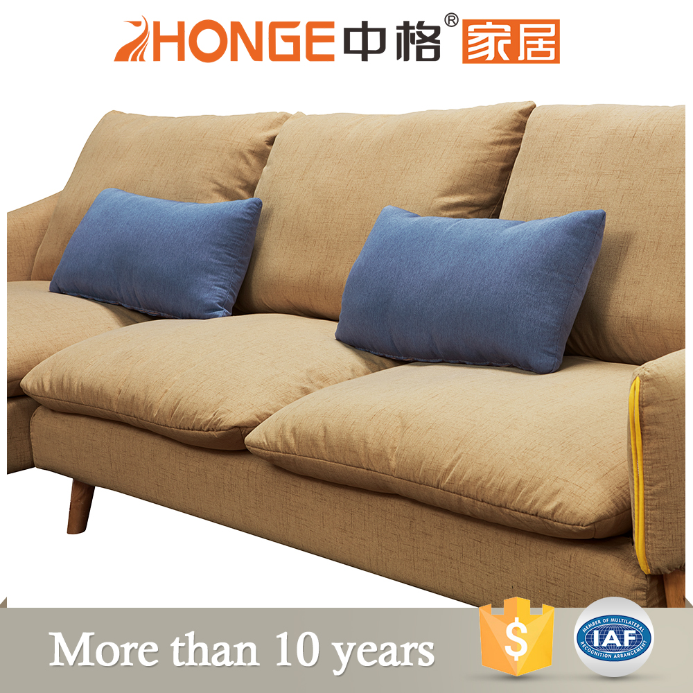 modern low back sectional cloth divan lining designs sofa sets, View lining  designs sofa sets, Zhonge Product Details from Foshan Zhongge Furniture ...