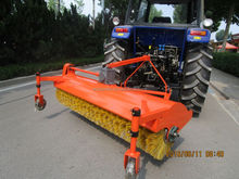 Tractor PTO Sweeper and Snow Cleaner