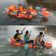 Three person transparent Clear PC kayak for sale