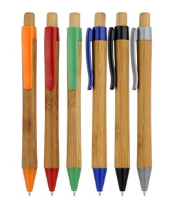 hot selling promotional ballpoint CH-6553 wood Bamboos pole promotional pen