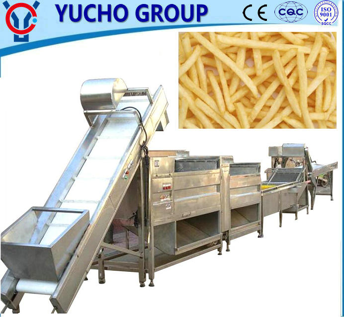 China Big Factory Good Quality Frozen French Fries/Potato Chips Processing Line