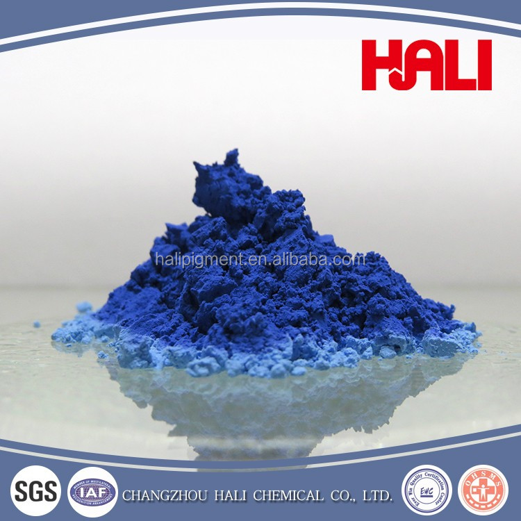 thermochromic pigment, hot active pigment, item:HLR-8176, dark blue to light blue