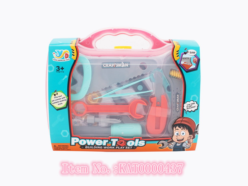 Popular Educational Kids Preschool Role Play Toys Tool Set Toy With Box
