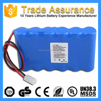 12V 4400mAh 18650 Rechargeable Portable 12V Battery Pack for Medical Devices