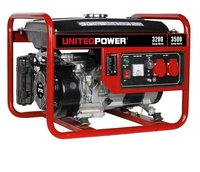 portable gasoline generator set power generator