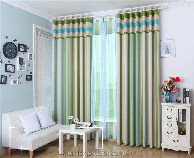 High Quality Printed Curtian Indian Patchwork Textile Europe Modern Curtains