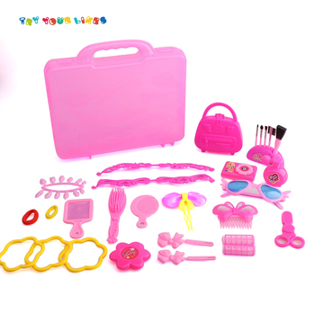 Dream girl ornaments make up dresser toys beauty play set