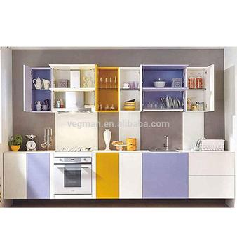 Small Design Kitchens And Kitchen Furniture Used Coloful Door Panel - Buy  Office Kitchen Furniture,Kitchen Cabinet Door Decorative Panels,Designer ...