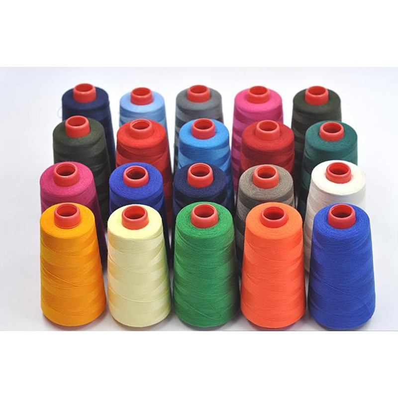 1PCS 17 Colors 3000 Yards Overlocking Sewing Machine Industrial Polyester Thread Metre Cones