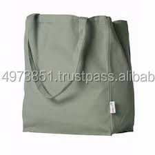 Best selling OEM Customized density fabric Canvas Grocery bag
