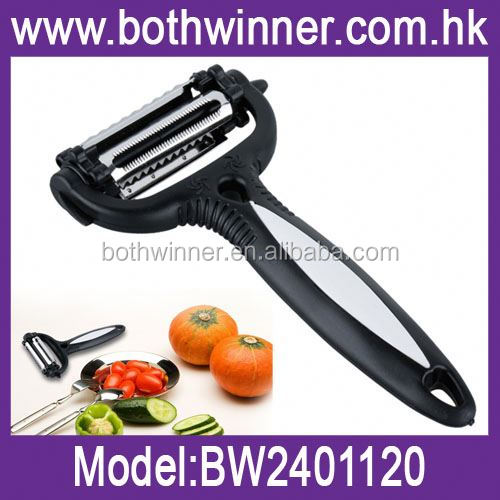 Carrot/potato/cucumber cutter ,H0T048 stainless steel mini vegetable slicer , best quality multi-function vegetable cutter
