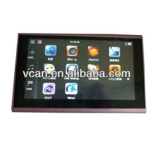"7"" car GPS navigator LCD touch screen Google map with GPS,Multimedia,Picture,Game VCAN0283-2"