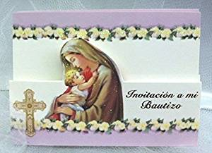 buy mi bautizo invitations invtaciones christening invitation with