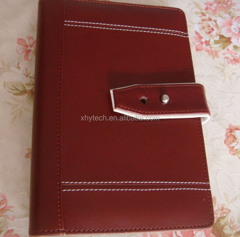 handmade design western leather notebook and diaries with paper sleeve