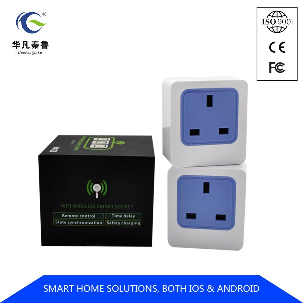 2018 News Wifi Smart Plug Uk App Remote Control Wi-fi Enabled Mini Smart  Socket 13a - Buy Wifi Smart Plug,Wifi Smart Plug Uk,Wifi Smart Plug Us