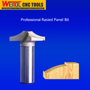 Weitol 1/2 inch shank CNC engraving tools raised panel router bits for woodworking