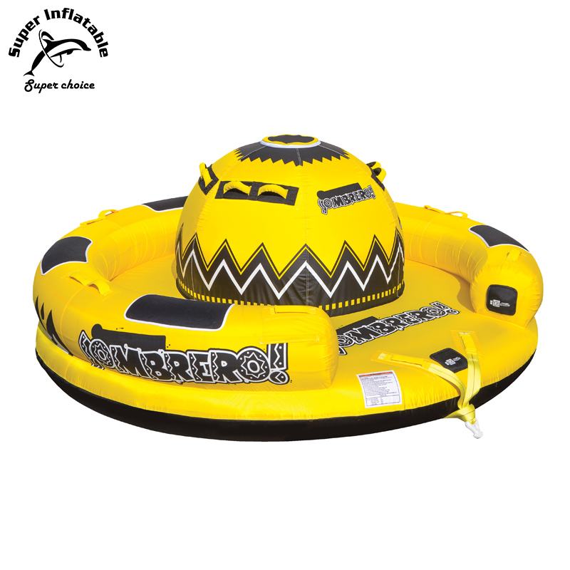 Custom Inflatable Towable Tube, Giant Water Sports Ski Tube Inflatable Water Toys