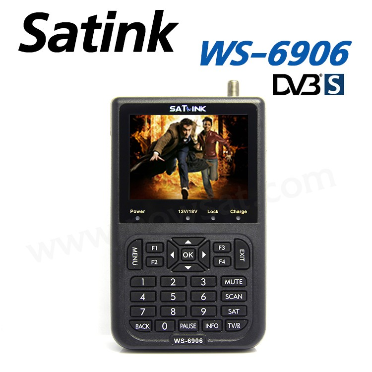 High Quality Satellite Finder WS6906 Satlink WS 6906 Satfinder