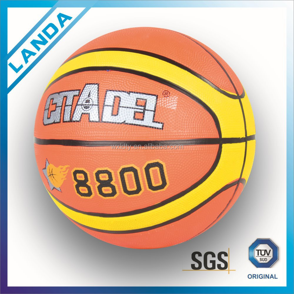 Christmas gifts Training match Promotional cartoon pattern basketballs