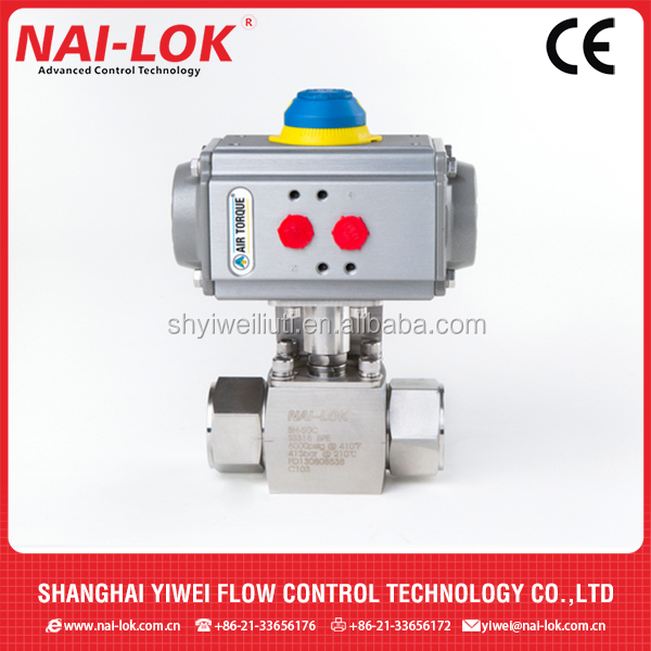 Stainless Steel316 2-way Pneumatic Sanitary Ball Valve Actuator for Iran