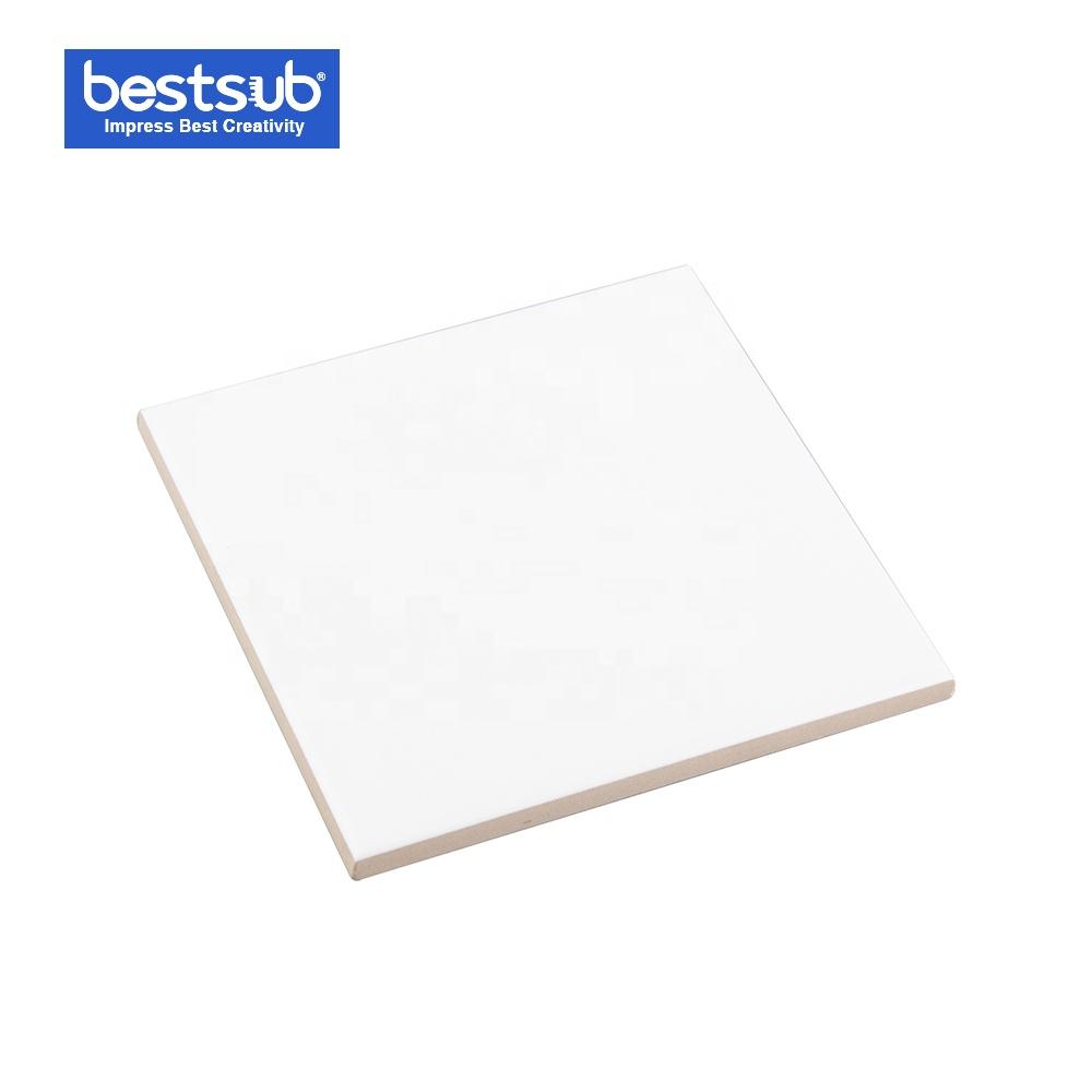 Carreau en c/éramique pour sublimation 10,8 x 10,8 cm