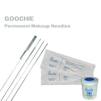 Einmal-Goochie Permanent Make-up-Nadel