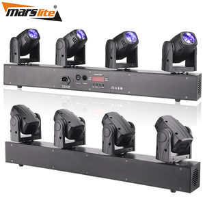 2018 Smart Led Stage Lighting Nightclub Sharpy Dj Equipment 4pcs 10W RGBW 4in1 LED Beam Moving Head Light