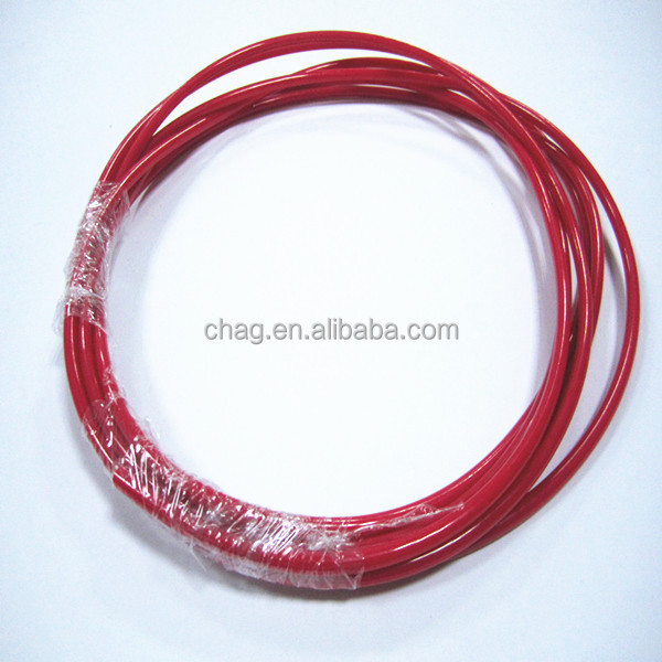 5mm red strong pvc plastic rope