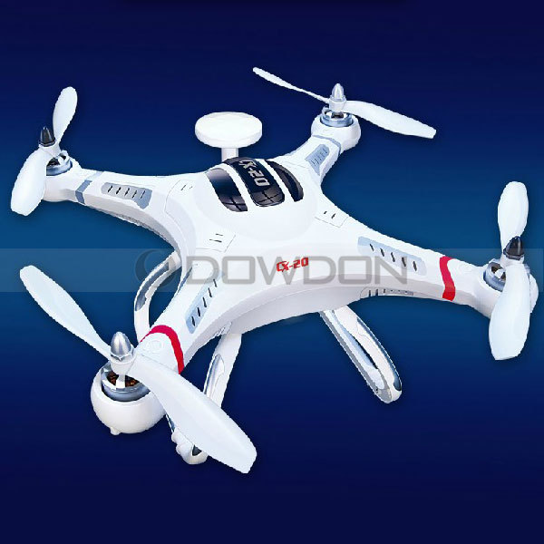 2.4GHz RC 4-Axis Quadcopter RC Helicopter CX20 CX-20 Auto-Pathfinder Aircraft