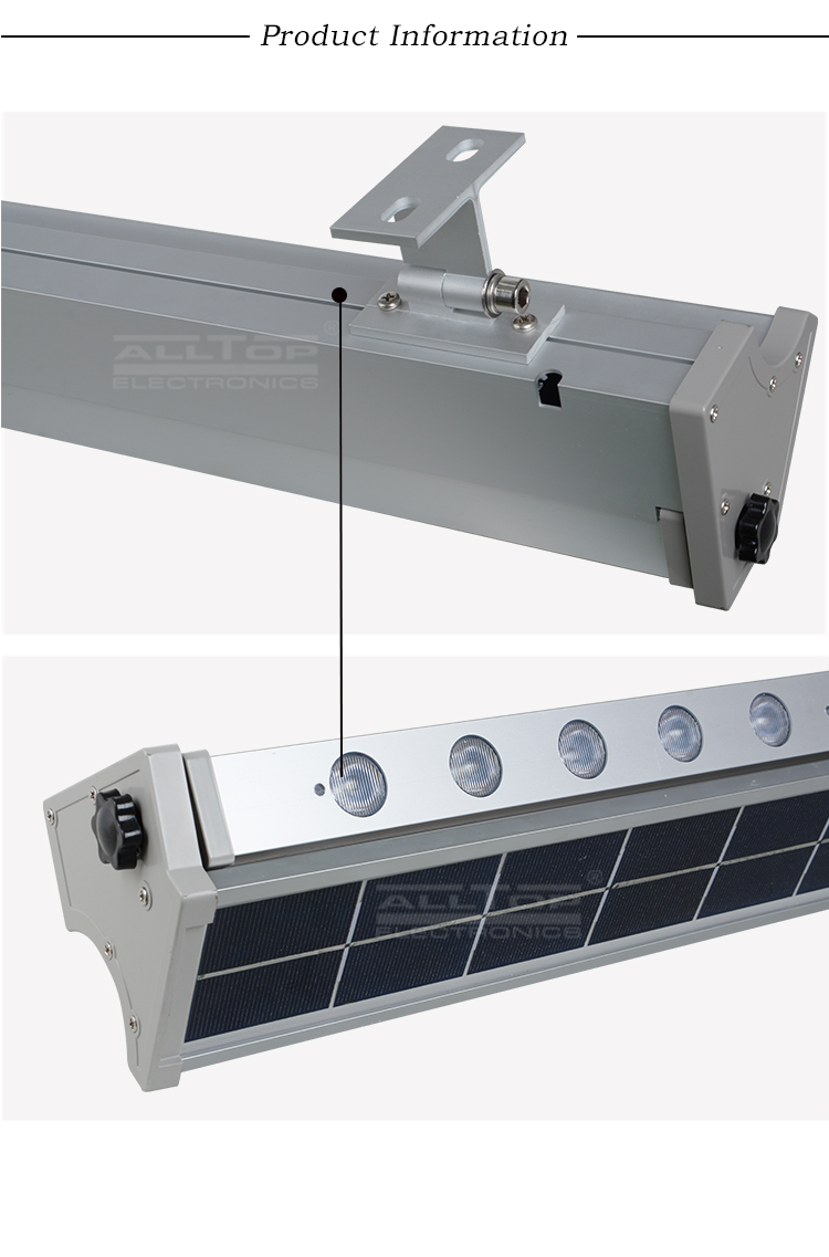 ALLTOP Outdoor Waterproof Rainproof Aluminum Alloy IP65 10w  20w solar led wall washer