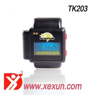 GPS Watch Tracker GSM GPRS Personal Wrist Tracking System SOS Function anti lost elderly and children can play phone