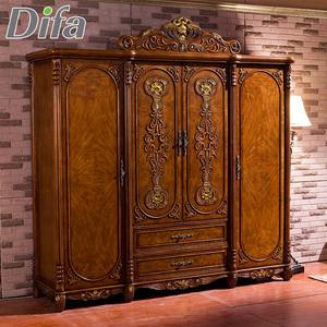 Custom Teak Wood Wardrobe Door Design Wardrobe For Bedroom