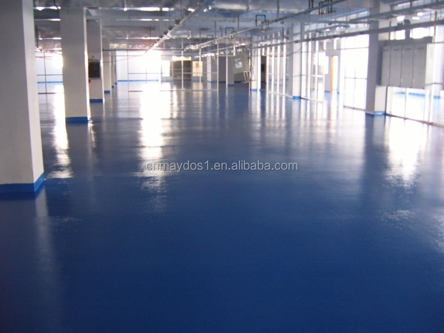 Anti Slip Epoxy Floor Paint for Factory over Flooring Tile Guangzhou chemical