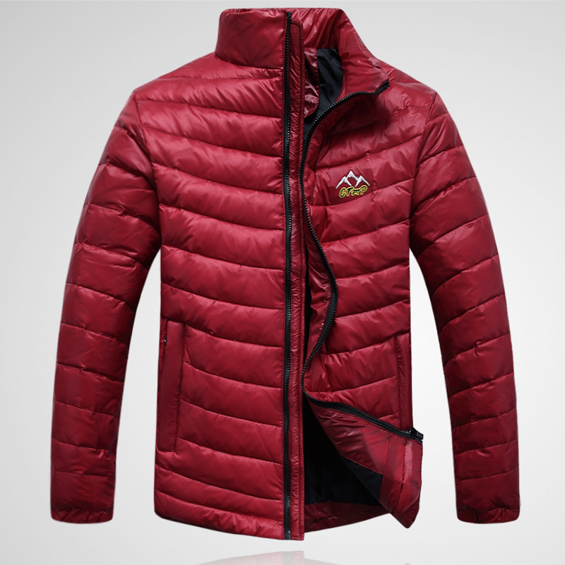 Good quality 2015 new fashion winter men down coat jacket
