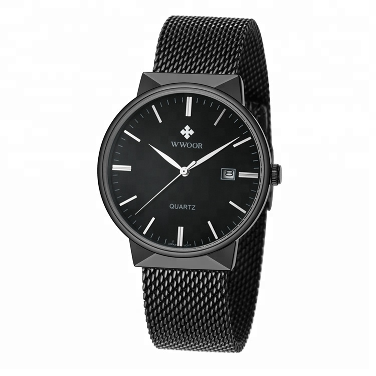 New fashion mens wwoor brand sport stainless steel male wrist watch фото