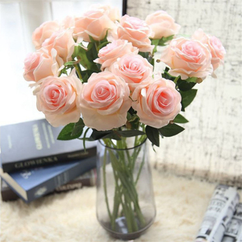 Handmade Single Rose Flower Arrangement Flower Bunch Buy Single Rose Flower Handmade Flower Arrangement Rose Flower Bunch Product On Alibaba Com
