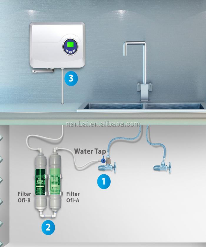 Rubinetto ozono depuratore di acqua e per la casa pre filtrazione acqua dispositivo generatore - Depuratore acqua casa prezzo ...