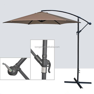 china modern patio furniture hanging parasol sun umbrella