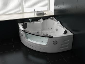 140cm Whirlpool Corner Shower Spa Massage 2 Person Bathtub