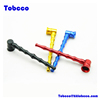 Cheaper Tobacco Cigarette Cigar Filter Durable Aluminum Alloy Rod Long Bamboo Smoking Pipe