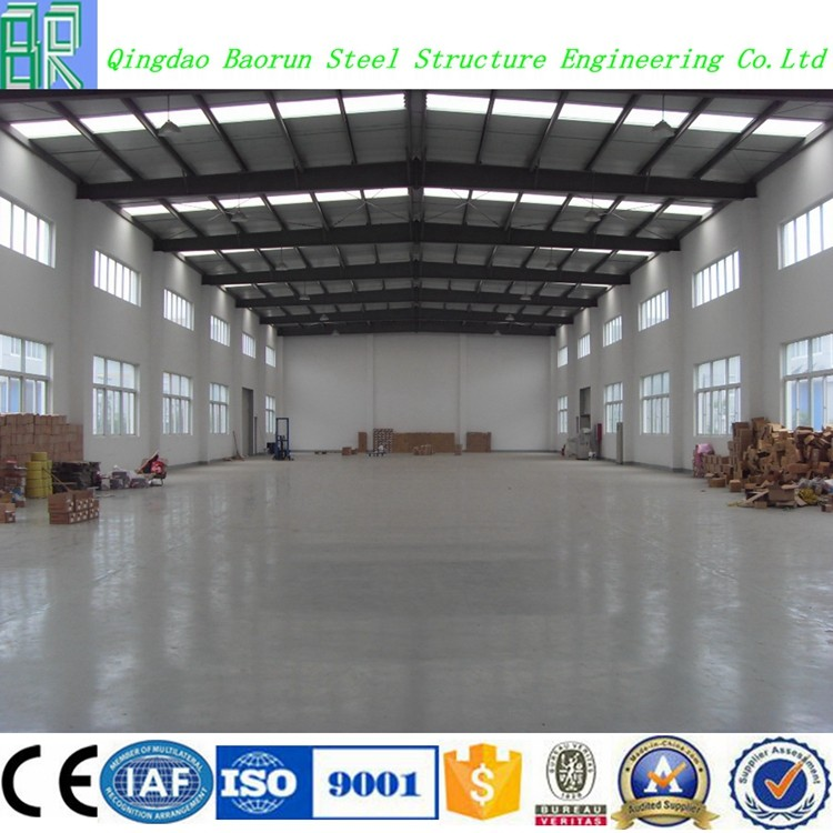 Cheap prefab light steel structure chinese warehouse